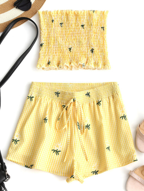 Yellow 2 Piece Set