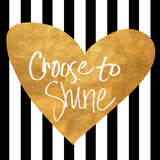 Choose To Shine Tote Bag