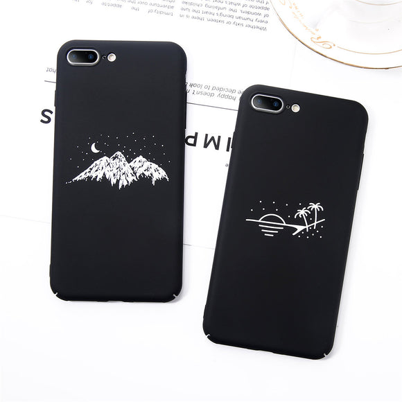 Black & White Phone Case