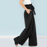 Black Belted Pants