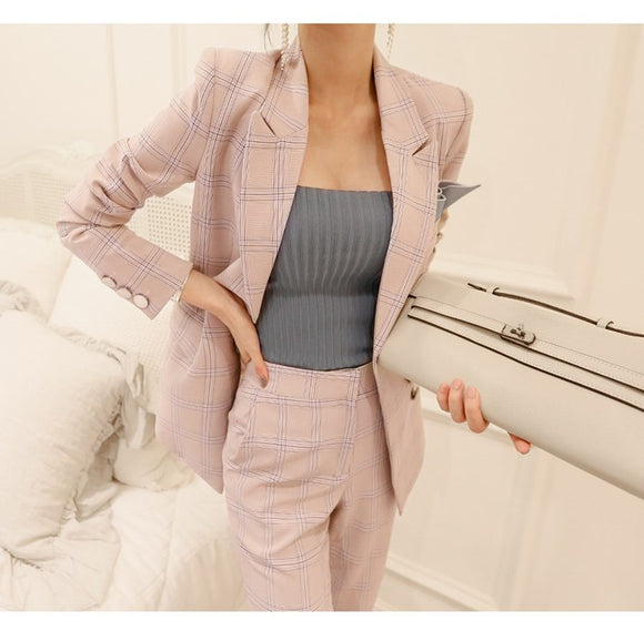 Blazer & Pants Set