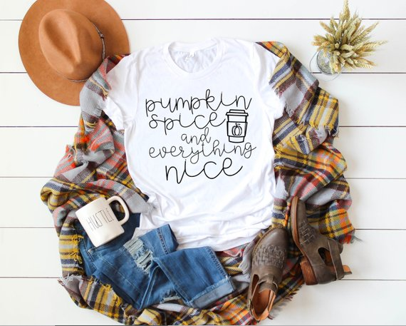 Pumpkin Spice & Everything Nice Tee