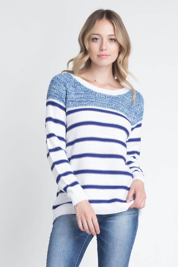 Gabby Stripe Knit Sweater