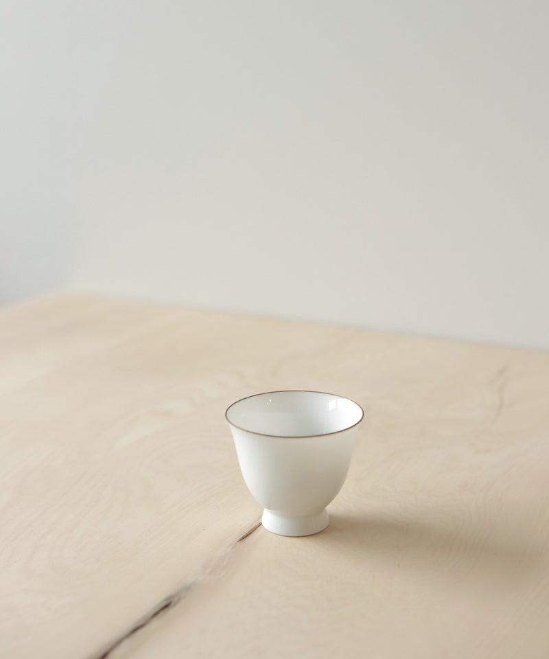 Pearl White Tea Cup