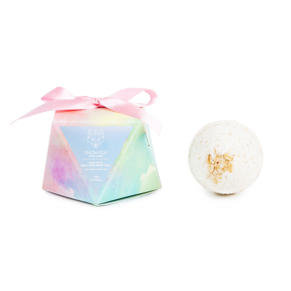 Snow Fox Skincare Baby Oats Bath Treatment Ball
