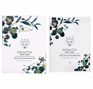 Snow Fox Skincare Herbal Youth Collagen Boosting Mask