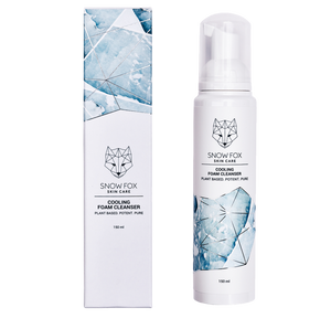 Snow Fox Skincare Cooling Foam Cleanser