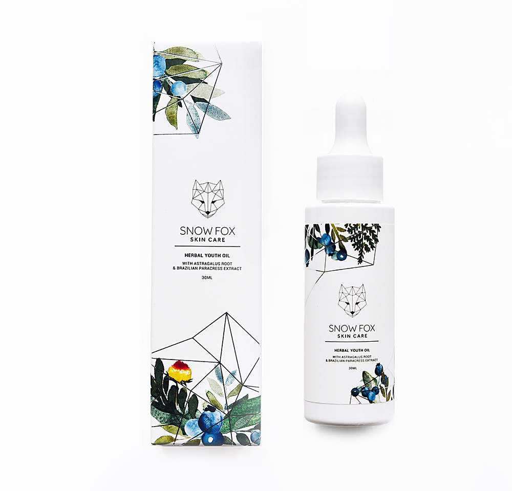 Snow Fox Skincare Herbal Youth Oil