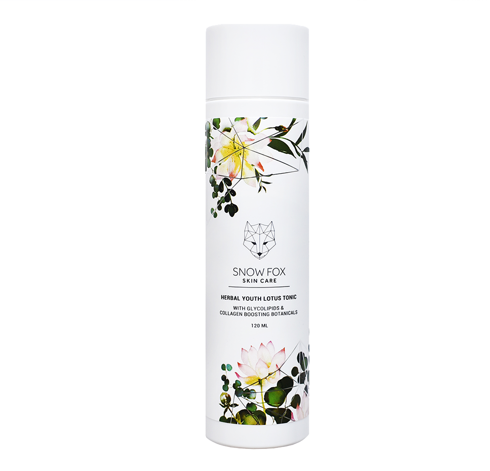 Snow Fox Skincare Herbal Youth Lotus Tonic