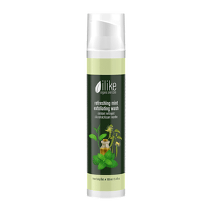 Ilike Organic Skin Care Refreshing Mint Exfoliating Wash