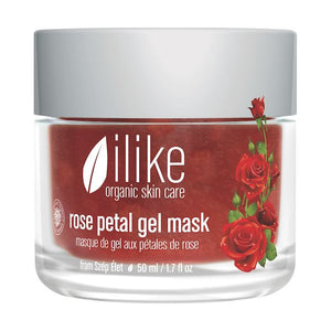 Ilike Organic Skin Care Rose Petal Gel Mask