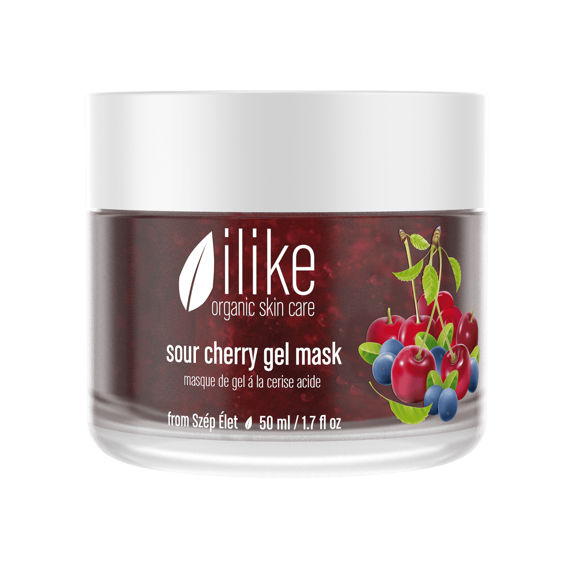 Ilike Organic Skin Care Sour Cherry Gel Mask