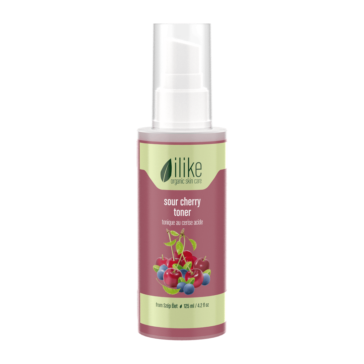 Ilike Organic Skin Care Sour Cherry Toner