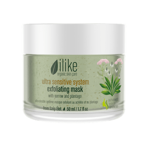 Ilike Organic Skin Care Ultra Sensitive Exfoliating Mask