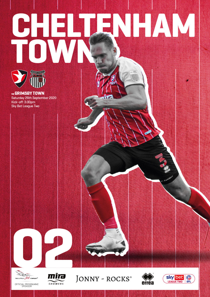 Grimsby Town (Saturday, September 26) - limited edition print version