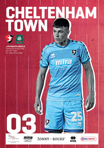 Plymouth Argyle (Tuesday, October 6) - limited edition print version