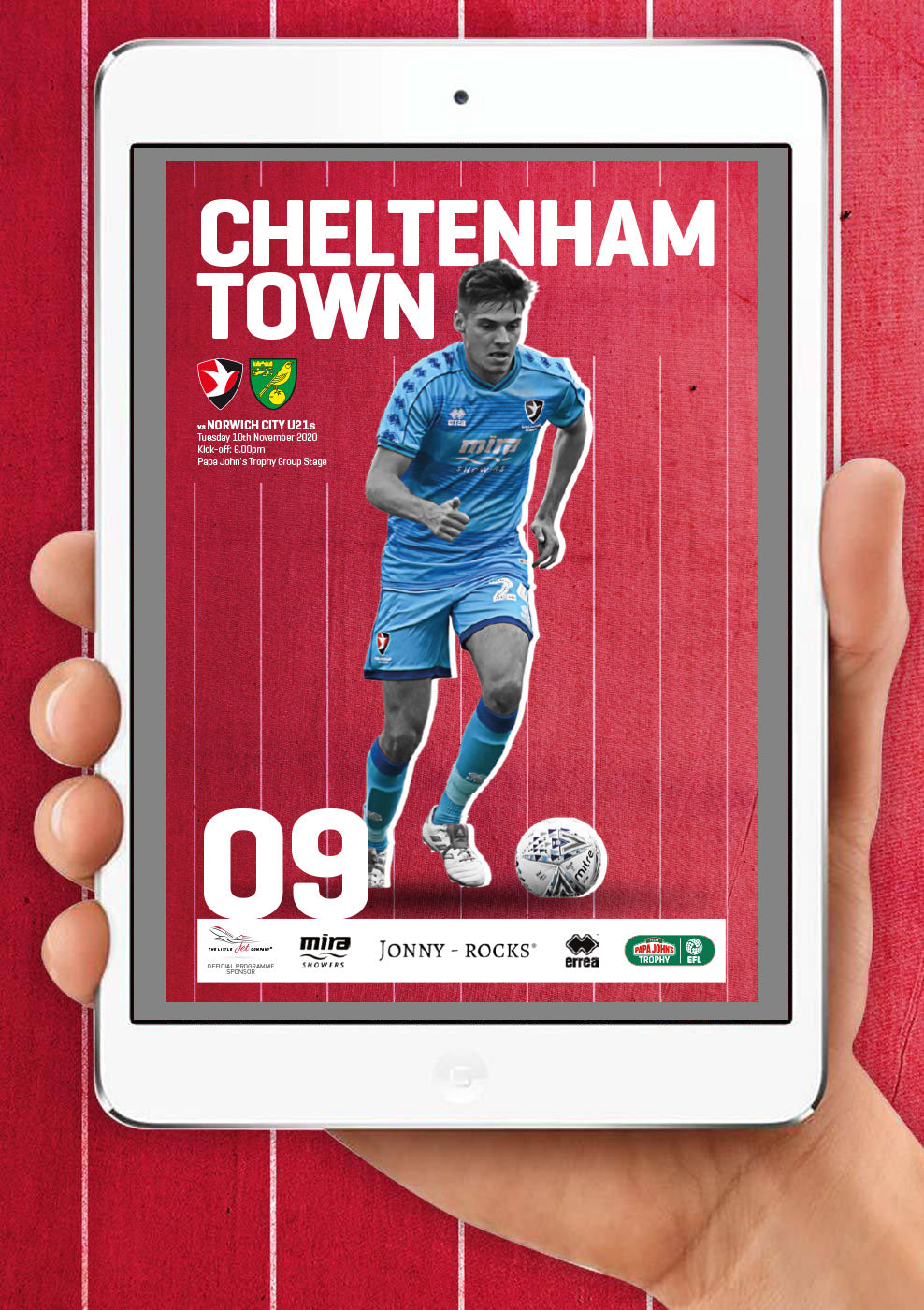 Norwich City under-21s (Tuesday, November 10) - digital edition