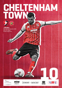 Walsall (Saturday, November 21) - limited edition print version