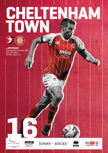 Stevenage (Saturday, December 26) - limited edition print version