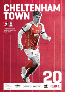 Oldham Athletic (Tuesday, January 26) - limited edition print version