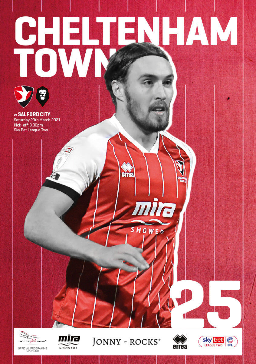 Salford City (Saturday, March 20) - limited edition print version