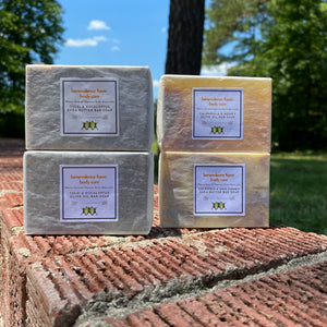 Natural Bar Soap: 4-Pack