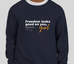 """Freedom"" limited-edition crewnecks"
