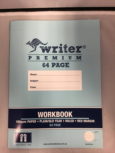 writer Premium 64 page Workbook Year 1