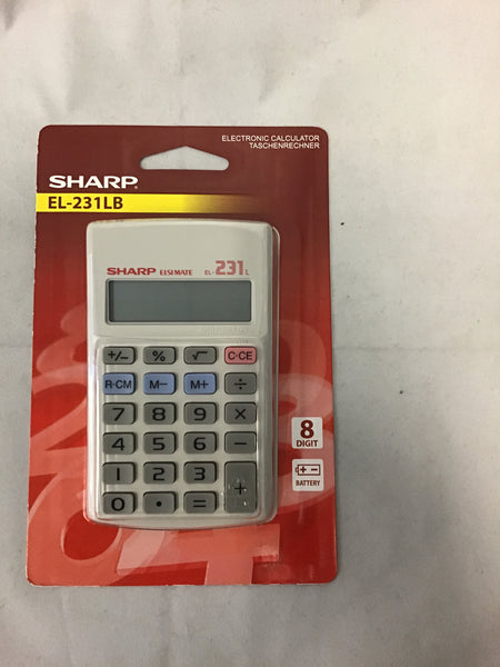 Sharp EL231LB Calculator