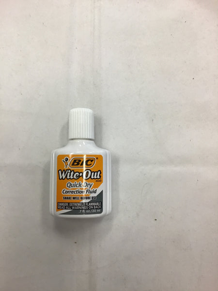 BIC Wite-out Fluid 20 ml bottle
