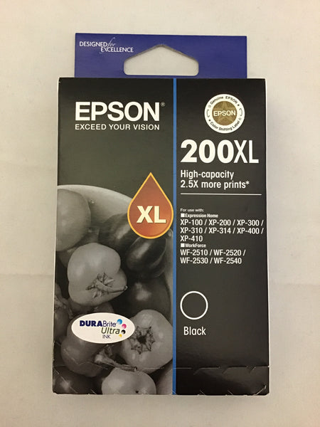 Epson 200XL Ink Cartridge Black