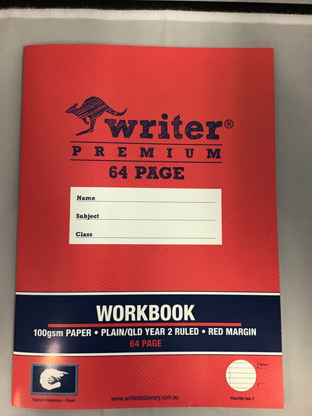 Writer Premium Workbook Year 2 64 page