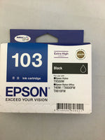Epson 103 Black Cartridge