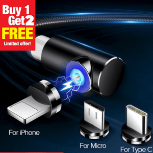 MAGNETIC FAST CHARGE CABLE | BUY 1 GET 2 FREE