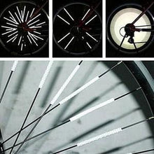 Load image into Gallery viewer, 60% OFF TODAY!!BICYCLE WHEEL SPOKE REFLECTOR(12 PCS)– FITS ALL STANDARD SPOKED WHEELS