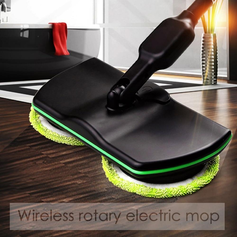 Rechargeable 360' Rotation Cordless Floor Cleaner Scrubber Polisher