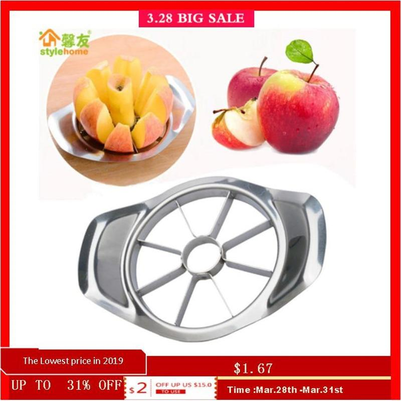 Stainless Steel Apple Cutter Slicer Vegetable Fruit Tools