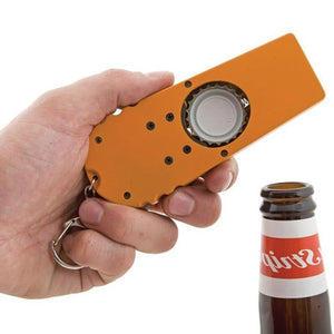 CREATIVE BOTTLE OPENERS TOOL FLYING CAP LAUNCHER