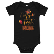 Load image into Gallery viewer, My First Thanksgiving Onesie - Stage 12
