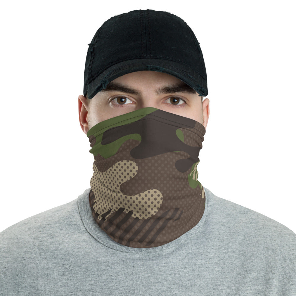 FOREST CAMO MASK - Stage 12