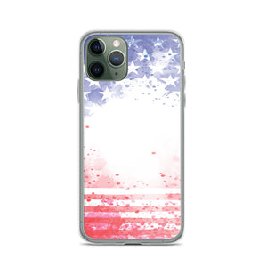 iPhone 11 - 11 Pro Max Case USA Abstract Flag - Stage 12