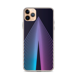 Gradient Triangles iPhone 11 - 11 Pro - 11 Pro Max Case - Stage 12