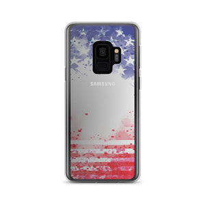 USA PAINT FLAG Samsung Case - Stage 12