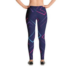 Neon Laser Maze Leggings - Stage 12