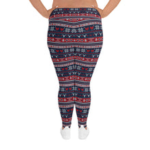 Load image into Gallery viewer, Heart Snow Yoga Plus Size Leggings - Stage 12