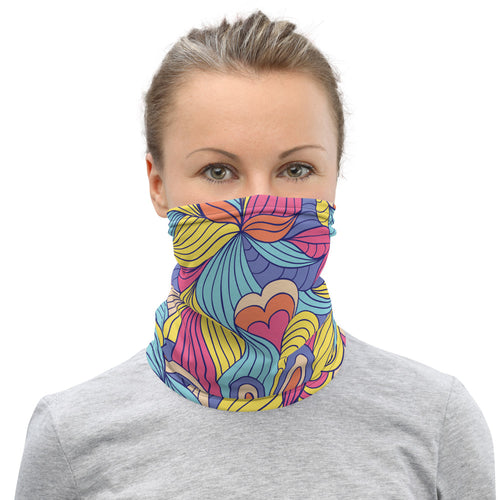 ABSTRACT FLOWER NECK MASK - Stage 12