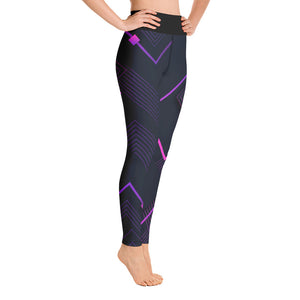 Digital Square Abstract Leggings w/ Pockets - Stage 12