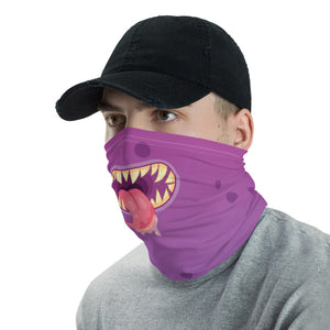 PURPLE MONSTER SHARP TEETH MASK - Stage 12