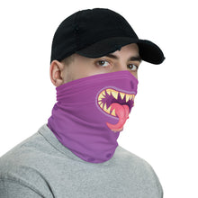Load image into Gallery viewer, PURPLE MONSTER SHARP TEETH MASK - Stage 12