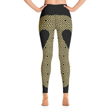 Load image into Gallery viewer, Gold Greek Yoga Leggings - Stage 12